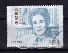 FRANCE 2016 Nouveauté Francoise Giroud Obl. - France