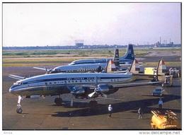 Aviation Postcard-389-KLM Lockheed L-1049 CONSTELATION - 1946-....: Moderne