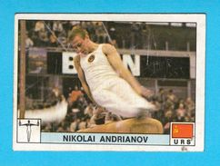 PANINI OLYMPIC GAMES MONTREAL 76 No 206 NIKOLAI ANDRIANOV Soviet Union Russia Gymnastics Juex Olympiques * Yugoslav Ed. - Gymnastique