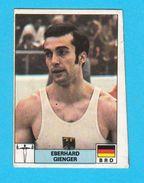 PANINI OLYMPIC GAMES MONTREAL 76 No 209 EBERHARD GIENGER Germany Gymnastics Juex Olympiques * Yugoslav Ed. - Gymnastics