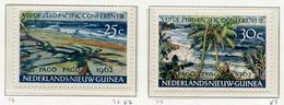 1962 - WEST NUOVA GUINEA - Mi. Nr.  76/77 - NH -  (UP.70.7) - Nuova Guinea Olandese