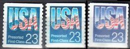 United States 1992-93 USA Presort - Sc # 2606-08 - Mi.2251 - Used - Usati