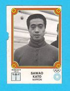 PANINI OLYMPIC GAMES MONTREAL 76 No 95. SAWAO KATO Japan Gymnastics Juex Olympiques 1976. * Yugoslav Edition - Gymnastique