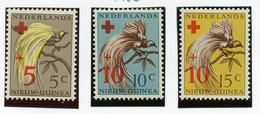 1955 - WEST NUOVA GUINEA - Mi. Nr.  38/40 - NH -  (UP.70.8) - Nuova Guinea Olandese