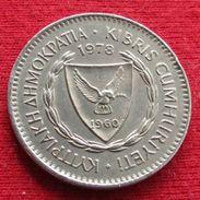 Cyprus 50 Mils 1978 KM# 41 Chipre Zypern - Cyprus