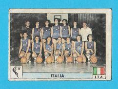 PANINI OLYMPIC GAMES MONTREAL '76 No. 171. ITALY Woman's Basketball Basket-ball Juex Olympiques 1976. * Yugoslav Edition - Sports