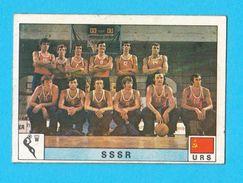 PANINI OLYMPIC GAMES MONTREAL '76 No. 163. SOVIET UNION - RUSSIA Basketball Juex Olympiques 1976. * Yugoslav Edition - Sports