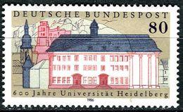 BRD - Mi 1299 - ** Postfrisch (C) - 80Pf   600 Jahre Uni Heidelberg - [7] Repubblica Federale