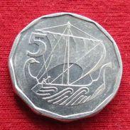 Cyprus 5 Mils 1981 KM# 50.1 Chipre Zypern - Cyprus
