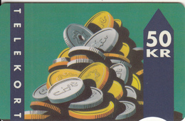 DENMARK - Coins, CN : 3001-025398, Tirage 29000, 02/92, Used - Denmark