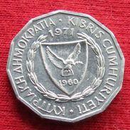 Cyprus 1 Mil 1971 KM# 38  Chipre Zypern - Cyprus