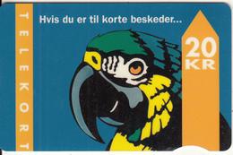 DENMARK - Parrot, CN : 1007, 01/95, Used - Denmark