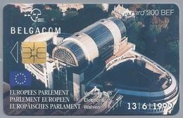 BE.- België. Telecard.- BELGACOM. EUROPEES PARLEMENT Verkiezingen. PARLEMENT EUROPEEN. 1999. - JJ 110808. - België