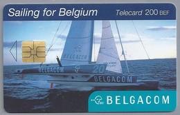 BE.- België. Telecard.- BELGACOM. Sailing For Belgium. Sailing Team. OK 674339. - België