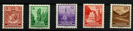 1758- Liechtenstein Nº 123/7 - Liechtenstein