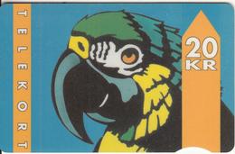 DENMARK - Parrot, CN : 2000, 01/93, Used - Denmark