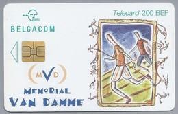 BE.- België. Telecard.- BELGACOM. MVD. Memorial Van Damme. Child Focus. GJ 109963. - België