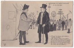 (58) 009, Légende De Saint St Saulge, FRN 4, Le Feu D'Artifice - Otros Municipios