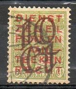PAYS-BAS - (Royaume) - 1923 - N° 129 Et 130 - (Timbres De Service (non émis) Surchargés) - Oblitérés