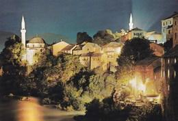 MOSTAR VUE SUR LA VILLE (dil306) - Yougoslavie