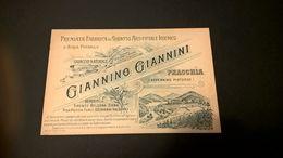 GIANNINO GIANNINI GHIACCIO ARTIFICIALE IGIENICO - APPENNINO PISTOIESE - Publicidad