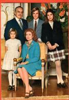 GAR-01  Famille Royale Rainier Et Grace De Monaco, Prince Albert, Caroline Et Stéphanie. Photo De Famille. Non Circulé - Familles Royales