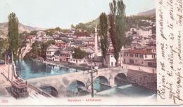 ALTE AK   SARAJEVO / BOSN.-H.  - Alifakovac Mit Strassenbahn -  Ca. 1905 Gelaufen - Bosnia Erzegovina