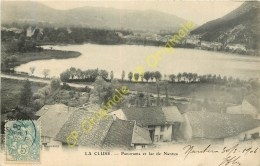 01.  LA CLUSE .  Panorama Et Lac De Nantua . - Francia