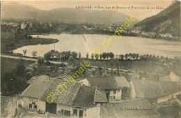 01.  LA CLUSE .  Port . Lac De Nantua Et Panorama De La Cluse . - Francia