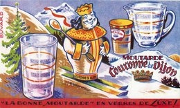 BUVARD AMORA COURONNE DE DIJON - Blotters