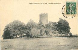 Cpa GENOUILLEUX (Ain) 01 - La Tour De Chavagneux - Edit. Mme Darmezin - France