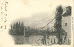 Cpa 1901 Environs De GLANDIEU - Le Pont D'Evieu - Vialatte Phot. Oyonnax - France
