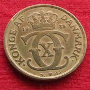 Denmark 1 Krone 1935 A  Dinamarca Danemark Danimarca Wºº - Denmark