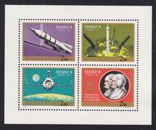 HONGRIE AERIENS N°  333 à 336 ** MNH Neufs Sans Charnière, TB  (CLR075) Cosmos, Soyouz 9 - Airmail