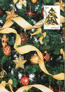 """Entier Postal De 2009 D'Australie Sur CP Avec Timbre Et Illust. """"Arbre De Noël Décoré"""" - Noël"""