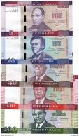 Liberia - Set 5 Banknotes 5 10 20 50 100 Dollars 2016 UNC Lemberg-Zp - Liberia