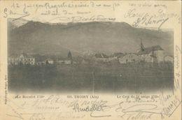 Cpa THOIRY (Ain) 01 - 1902 - Le Reculet - Le Crêt De La Neige - Phototypie Rogat, Gex - France