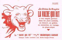 "ANCIEN BUVARD "" La Vache Qui Rit "" -  Illustration Benjamin RABIER - Dairy"