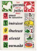 Astrologie- CANCER-- LION   ---Garçons Nés En Juillet  (jeunes De Caractère,téméraires,séducteurs,patients,gourmands) - Astrology