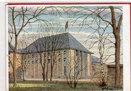 AK Bayreuth, Haus Der Deutschen Erziehung - Beflaggung 1941 - War 1939-45