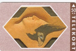 Denmark, TS 006M, Relief Series - Nr 13 Of 16, Mint 50 Kr, Only 2.500 Issued. - Denmark