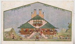 VAL FORMAZZA - ALBERGO CASCATA DEL TOCE   RELATIVO TIMBRO - LE STAGIONI - PRIMAVERA - FORMATO PICCOLO - VIAGGIATA 1926 - Genova (Genoa)