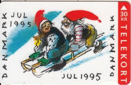 DENMARK - Christmas 1995, CN : 1541, Tirage 75000, 10/95, Used - Denmark