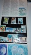 AAT Australia Antarctic Territory 1966 QEII Definitive Set Complet Neuf  MNH. SG 8-18 - Unused Stamps