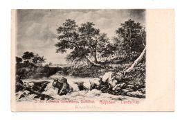 "ART . TABLEAU . RUYSDAEL LANDSCHAP . "" LICHTDRUK SCHALEKAMP, BULKSLOOT "" - Réf. N°6891 - - Peintures & Tableaux"