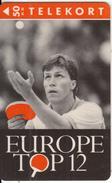 DENMARK - Ping Pong, Euro Top 12, Tirage 2500, 02/93, Used - Denmark