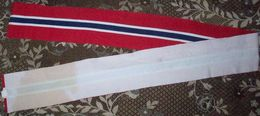 Band In Colors Of Norway Flag (100% Cotton) - 208x15sm - Flags