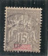 France   -  NOUVELLE CALEDONIE N° 61 Côte 1.70€ - Usados