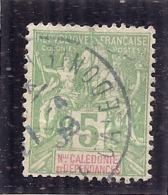 France   -  NOUVELLE CALEDONIE N° 59 Côte 1.60€ - Usados