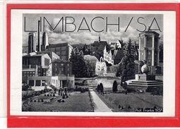 AK Limbach Sachsen Propaganda Stempel Gauparteitag 1937 - Guerra 1939-45
